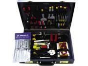 BELKIN F8E076 Computer Technician Maintenance Tool Kit in Briefcase - 78 Piece