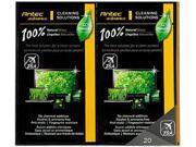 Antec NATURAL WIPES 20P 100% Natural Wipes 20p