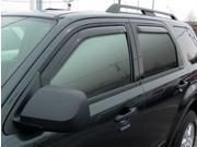 Westin Wade In-Channel Wind Deflectors Features: State Of The Art Design    Ensures Perfect Fit    Limited Lifetime Warranty    Slips Directly Into The Window Channel    Allows Fresh Air During Any Weather Condition Height: 3.000 Width: 12.000 Length: 47.000 Weight: 4.00 lbs Vehicle Type: Side Window Vent Fitment: 2012/Ford/Escape/XLT Sport Utility 4-Door/3.0L 183Cu