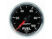 Auto Meter GS Electric Fuel Pressure Gauge