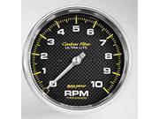 Auto Meter Carbon Fiber Electric In-Dash Tachometer