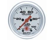 Auto Meter Ultra-Lite Electric Fuel Level Gauge