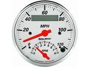AutoMeter 1381 Arctic White Tach/Speedo Combo * NEW *