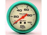 Auto Meter Ultra-Nite Oil Pressure Gauge