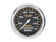 AutoMeter 4787-M Carbon Fiber In-Dash Electric Speedometer