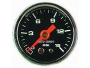 Image of Auto Meter Autogage Fuel Pressure Gauge