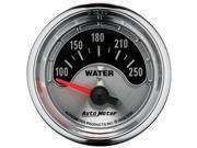 Auto Meter American Muscle Water Temperature Gauge