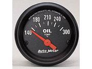 Auto Meter Z-Series Electric Oil Temperature Gauge