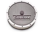 Edelbrock Elite Series Aluminum Air Cleaner 9SIV18C6BP3388