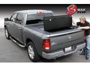 BAK Industries Truck Bed Cover Features: Turns Truck Into A Secure Locking Trunk  Allows 100% Access To Truck Bed w/o Removing Cover  All Aluminum  Integrated Tie Downs  Secure Slam Latches  Provides Maximum Security Height: 8.000 Width: 23.000 Length: 68.000 Weight: 71 Vehicle Type: 2637