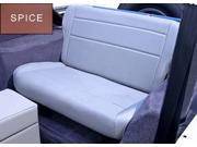 Rugged Ridge 13462.37 Fold And Tumble Rear Seat, Spice, 76-95 Jeep CJ And Wrangler