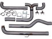 MBRP Exhaust S8008409 Smokers XP Series Down Pipe Back Stack Exhaust System