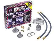 Trans-Dapt Performance Products 1127 Single Oil Filter Relocation Kit