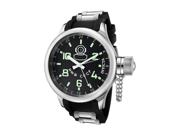 Invicta Men's Signature/Russian Diver GMT Black Dial Black Polyurethane