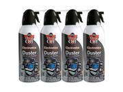 Dust-Off Compressed Gas Duster - 4 Pack