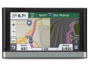 "GARMIN 5.0"" GPS Navigation w/ Lifetime Map & Traffic Update Audio Features: Voice prompts (e.g"