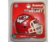 Creative Sports RPR-CHIEFS Kansas City Chiefs Riddell Revolution Pocket Pro Football Helmet