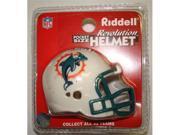 Creative Sports RPR-DOLPHINS Miami Dolphins Riddell Revolution Pocket Pro Football Helmet