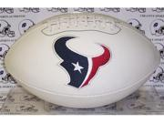 Creative Sports FB-TEXANS-Signature Houston Texans Embroidered Logo Signature Series Football