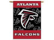 Fremont Die- Inc. 94820B 2-Sided 28 X 40 House Banner - Atlanta Falcons