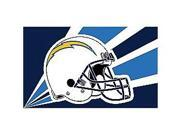 Fremont Die- Inc. 94219B 3 Ft. X 5 Ft. Flag W/Grommetts - San Diego Chargers 9SIA00Y08C6010
