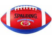 Spalding 62-992E Rookie Gear Red and Blue Football