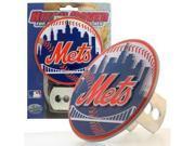 Siskiyou SportsBTHS080S MLB Trailer Hitch Cover- New York Mets