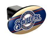 Great American Products GAP-HCC2115 Milwaukee Brewers MLB Trailer Hitch Cover