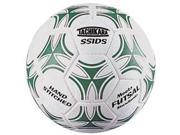 Tachikara SSIDS Futsal Skills Soccer Ball - White-Dark Green