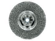 Weiler 804-01178 8 Inch Narrow Crimped Wire Wheel .014 W-3-4 Inch 9SIA0ZX1FJ1365