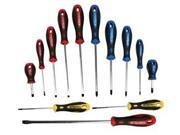 ATD Tools ATD-6255 13 Piece Screwdriver Set in Blow-Molded Case