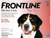 Merial TOPSPOT3-RED Frontline Topspot 3 Pack Dog 89 Lbs. & Up - Red