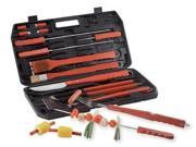 What sets this Chefmaster 18pc Barbecue Set apart from other sets are all the unique piece KTBQ19