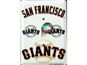 San Francisco Giants Light Switch Covers (single) Plates LS10040