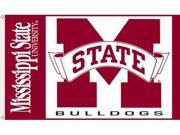 Bsi Products 95021 3 Ft. X 5 Ft. Flag W/Grommets - Mississippi State Bulldogs 9SIA00Y0977256