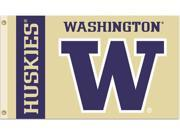 Bsi Products 95054 3 Ft. X 5 Ft. Flag W/Grommets - Washington Huskies 9SIA8BP3002950