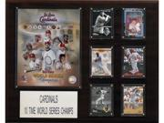 C & I Collectables 1620CARDS10TIME MLB St. Louis Cardinals 10 Time World Series Champions Plaque 9SIA00Y09D1641