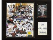 C & I Collectables 1215WS06GD MLB Cardinals 2006 World Series Limited Edition Champions Plaque 9SIA00Y09D4244