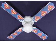 Ceiling Fan Designers 42FAN-KIDS-SMS Superman Marvel Superhero Ceiling Fan 42 in.