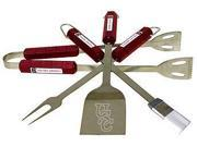 Bsi Products 61026 4 Pc Bbq Set - South Carolina Gamecocks