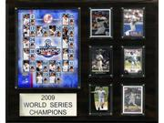 C & I Collectables 1620WS09 MLB New York Yankees 2009 World Series Champions Plaque 9SIA00Y09D2605