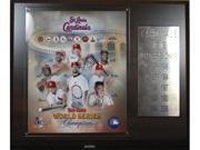 C & I Collectables 1215STL10X MLB Cardinals 10 Time World Series Champions Plaque 9SIA62V4SF1008
