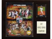 C & I Collectables 1215WS07 MLB Red Sox 2007 World Series Champions Plaque 9SIA00Y09D4287