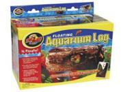 Zoo Med Floating Aquarium Log Medium Size 11.875in x 6.875in x 5.25in