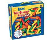Lauri 2439 Tall-Stacker Pegs- 100 Pack- Pack of 1