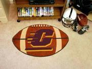 Central Michigan Football Rug Style: Contemporary Shape: N/A Material: Natural Materials