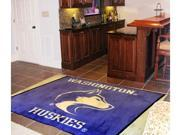 Fanmats 6784 University Of Washington 5 X 8 Rug