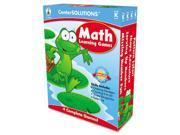 Image of Carson-Dellosa Publishing 140050 Math Learning Games- 4 Game Boards- 2-4 Players- Grade K