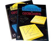 American Educational SR-0671 Communicating Mathematics For Geoboards - Intermediate Guide
