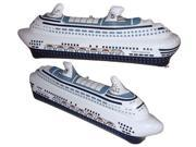 Daron Worldwide Trading EB0530 Holland America Inflatable Cruise Ship